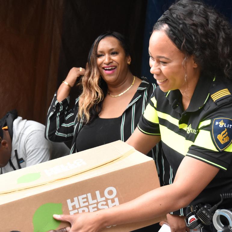 Politie en stichting Carabic slaan handen ineen